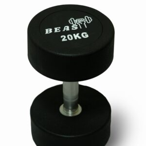 UNISEX RUBBER DUMBBELL